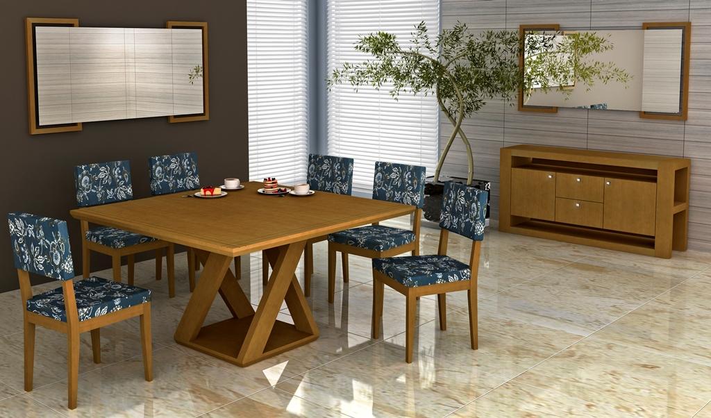 Sala Weselna Jantar Łuków ~ mesa de jantar 6 lugares tampo de vidro e base de madeira e uma mesa